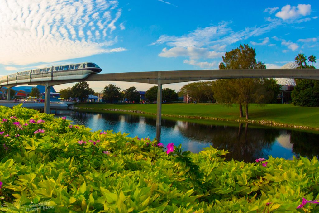 Disney's Monorail at Epcot